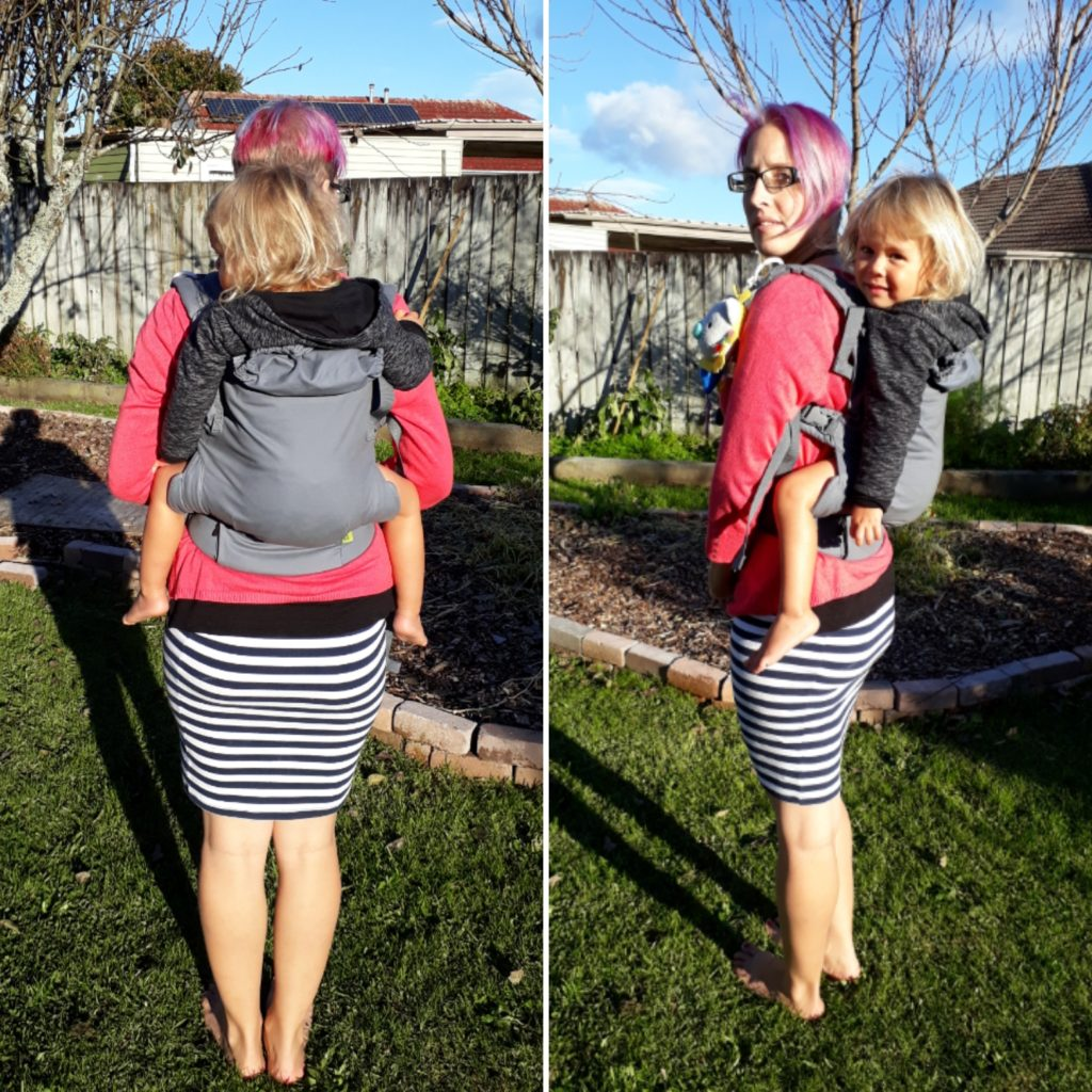 Review Boba X Baby Carrier Raising Ziggy